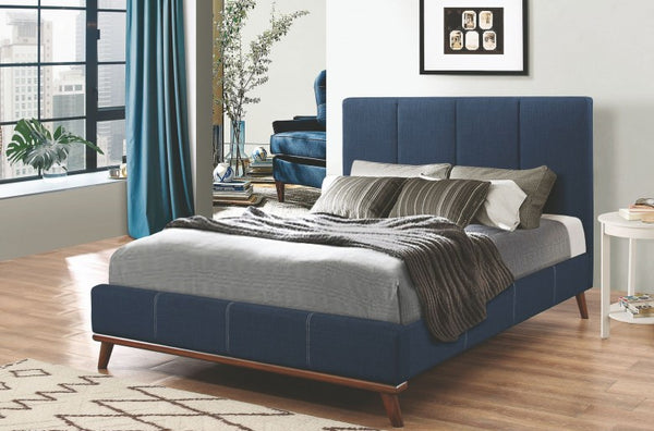 Charity Upholstered Bed (Sold in store only) - Eighth & Main
