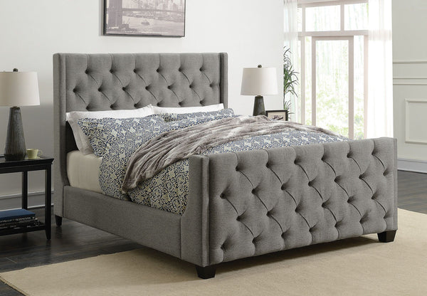 Demi Upholstered Bed (Sold in Store Only) - Eighth & Main