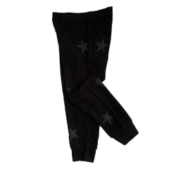 Flowers by Zoe Girls Black Jogger Sweats