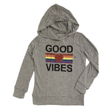 Flowers by Zoe Good Vibes Hoodie