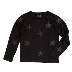 Flowers by Zoe Black Star Sweatshirt