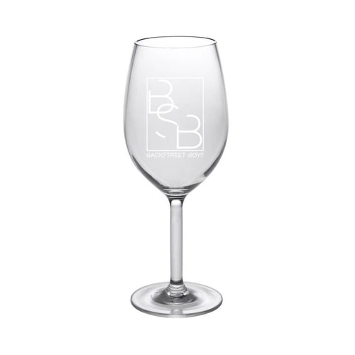 BSB Logo Wine Glass