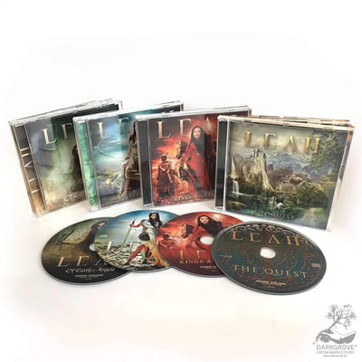 Celtic Metal CD QUARTET Bundle