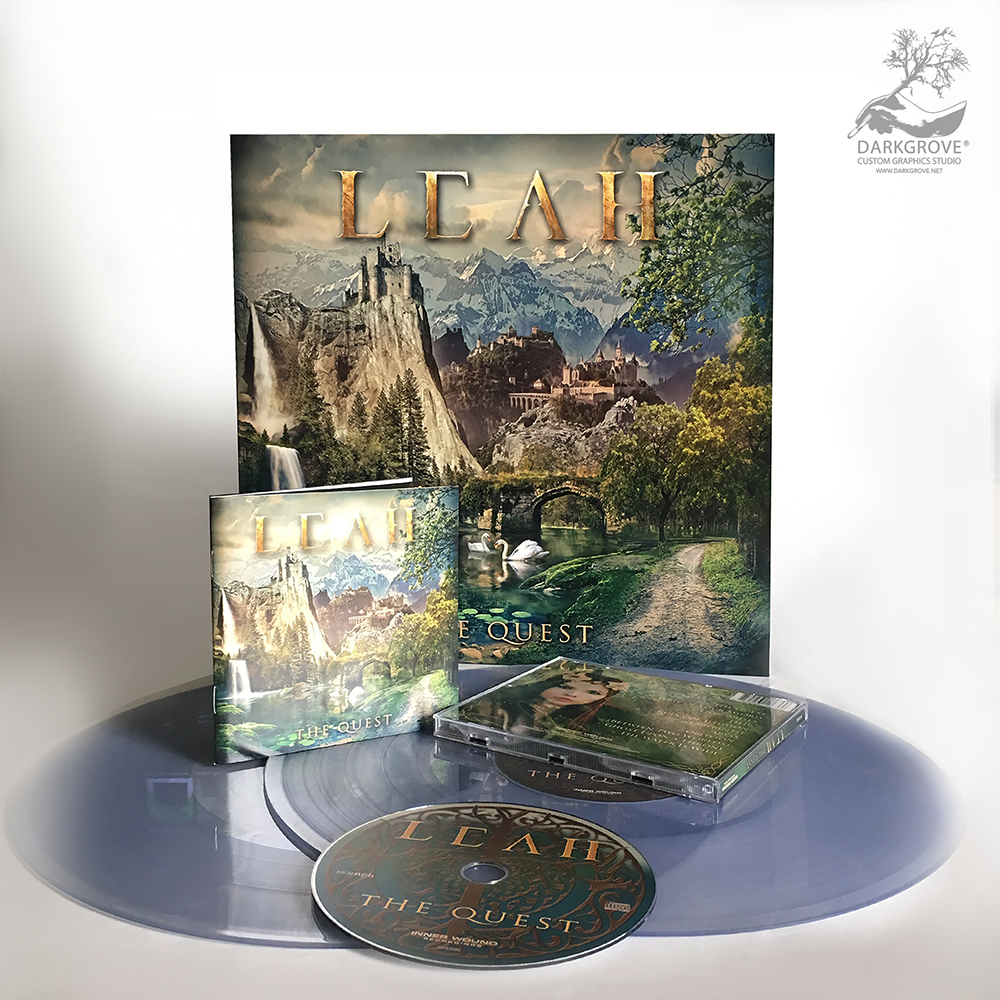 The Quest Bundle CD/LP/Shirt Bundle