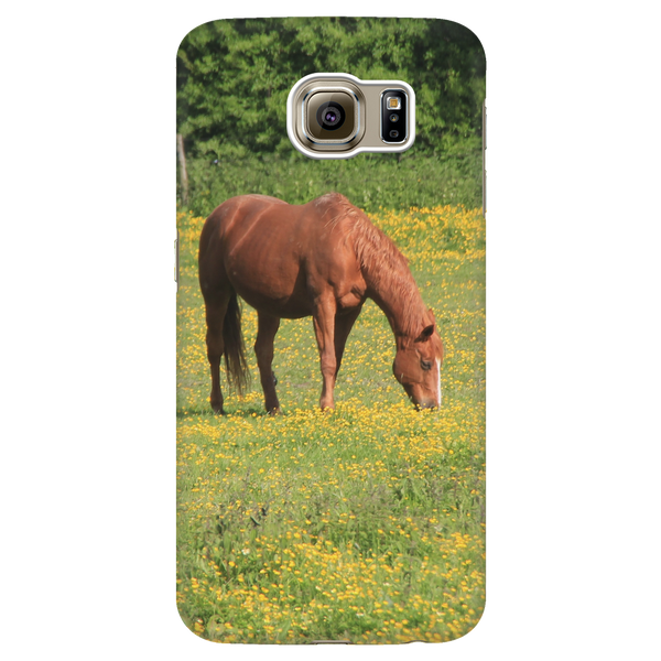 Grazing In Buttercups - Phone Case