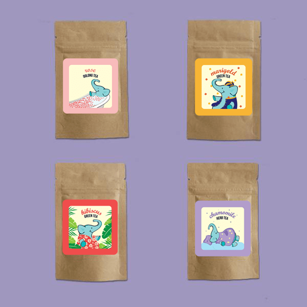 Floral Tea Samplers - Tea Trunk