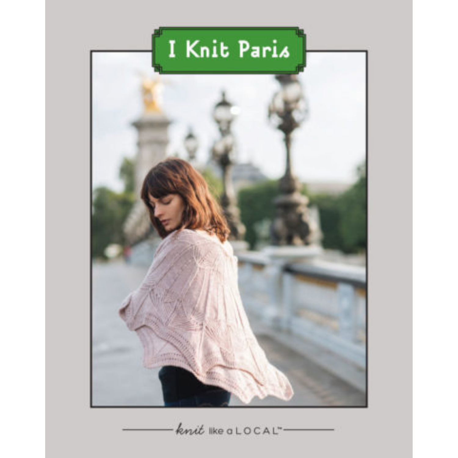 I Knit Paris - Printed Book