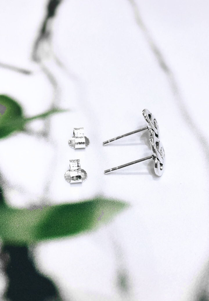 Traditional Rounded Trinity Knot Studs