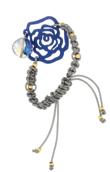 ROSE Indigo Crystal Woman Bracelet
