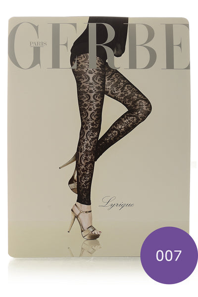 GERBE LYRIQUE Amethyst Baroque Leggings