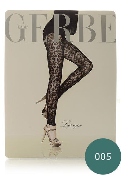 GERBE LYRIQUE Emeraude Baroque Leggings