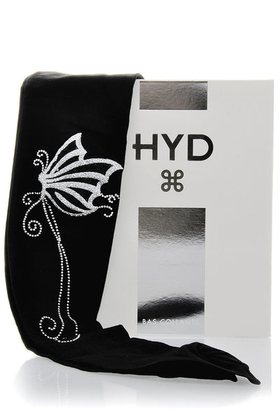 HYD ZENITH Silver Butterfly Tights