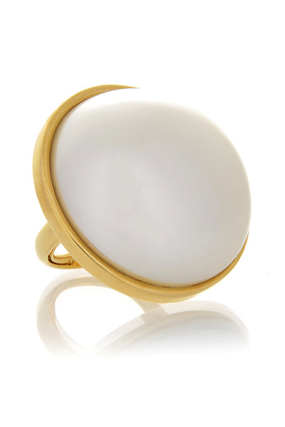 KENNETH JAY LANE Round Cabochon Ring