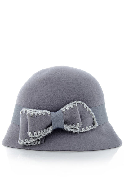 COCO Grey Cloche Hat