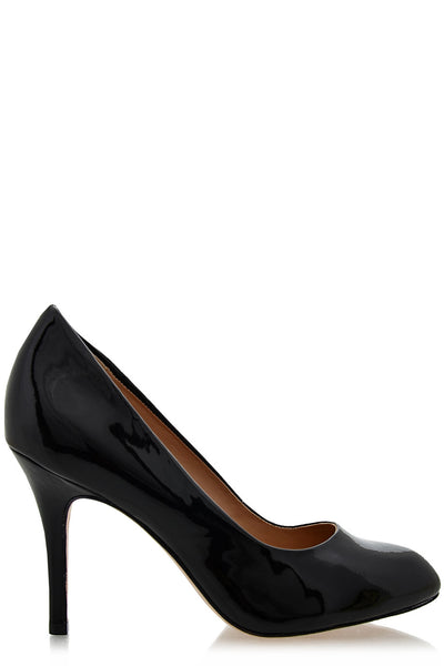 ALDITH Black Patent Leather Pumps