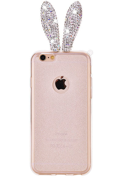RABBIT Crystal iPhone 6/6S Case PRETABEAUTE.COM