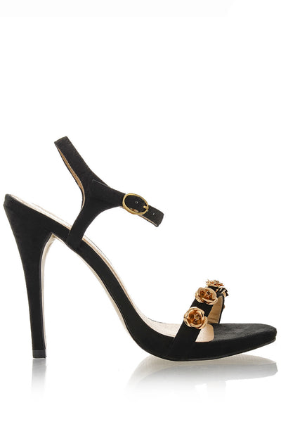 KONSTANZE Black Sandals