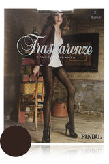 TRASPARENZE FINDAL Fume Lace Tights
