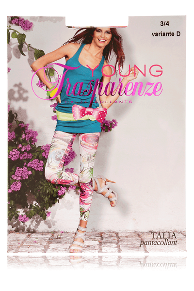 TRASPARENZE TALIA Multicolor Leggings