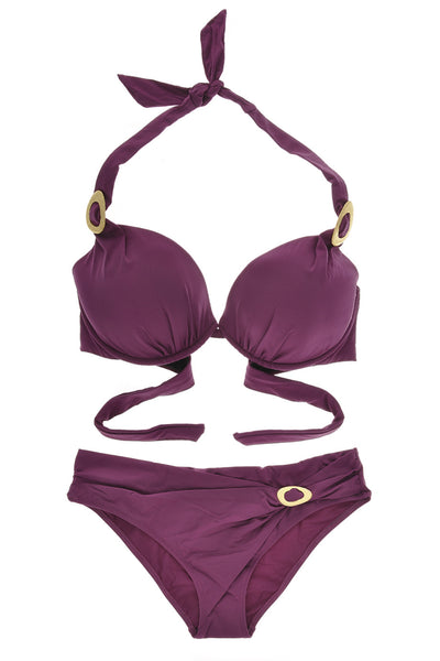CUORE Push-Up Halter Bikini