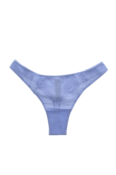 ESSENSE Purple Lace Thong