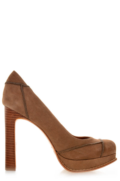TORONDO Camel Leather Pumps
