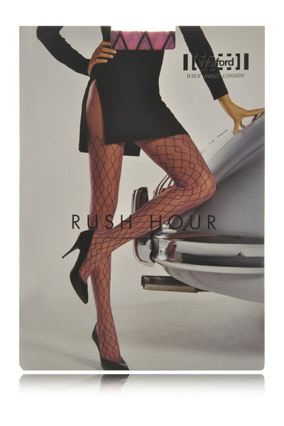 WOLFORD RUSH HOUR Diamond Fragon Fruit Tights 9881