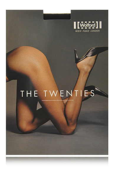 WOLFORD THE TWENTIES Net Vino Tights 3815