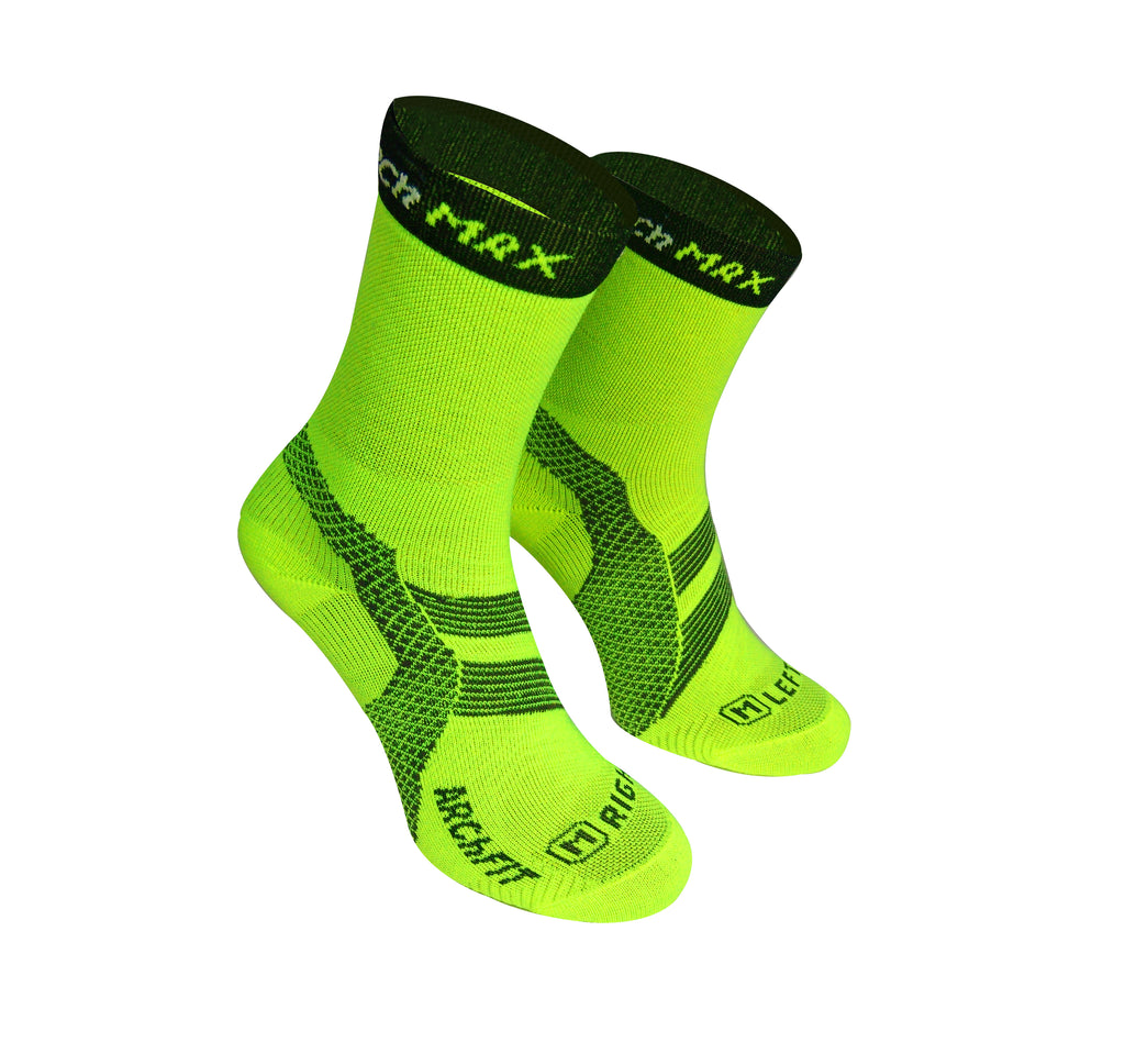 Calcetín deportivo transpirable Archfit Trail Run Medium Cut - ARCh MAX