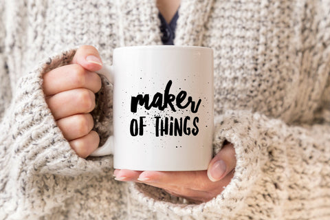 Maker of Things Coffee Mug