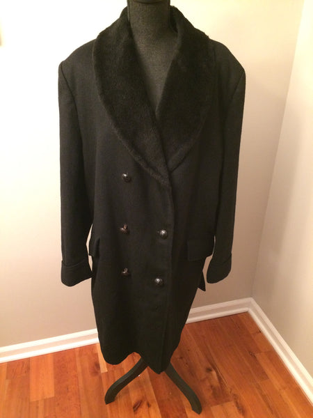 Vintage 1960's Marshall Field's Men's Store Wool Coat