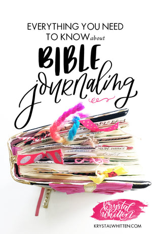 Bible Journaling Beginnings