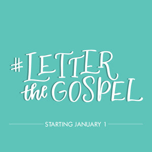 Letter the Gospel Challenge Cheat Sheet