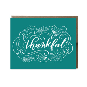 """Thankful"" card"
