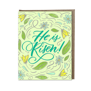"""He is Risen!"" card"