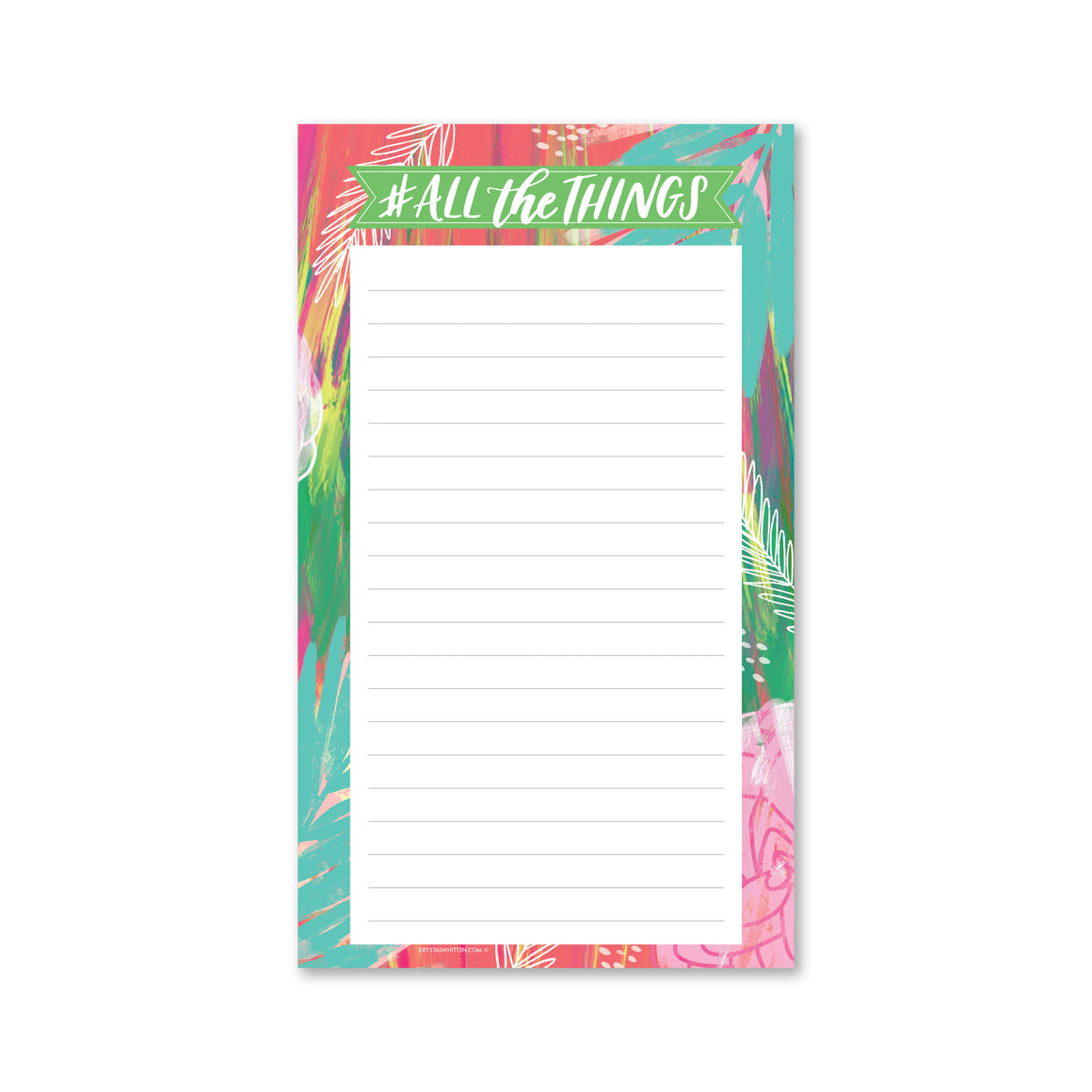 """#AllTheThings""  Notepad"