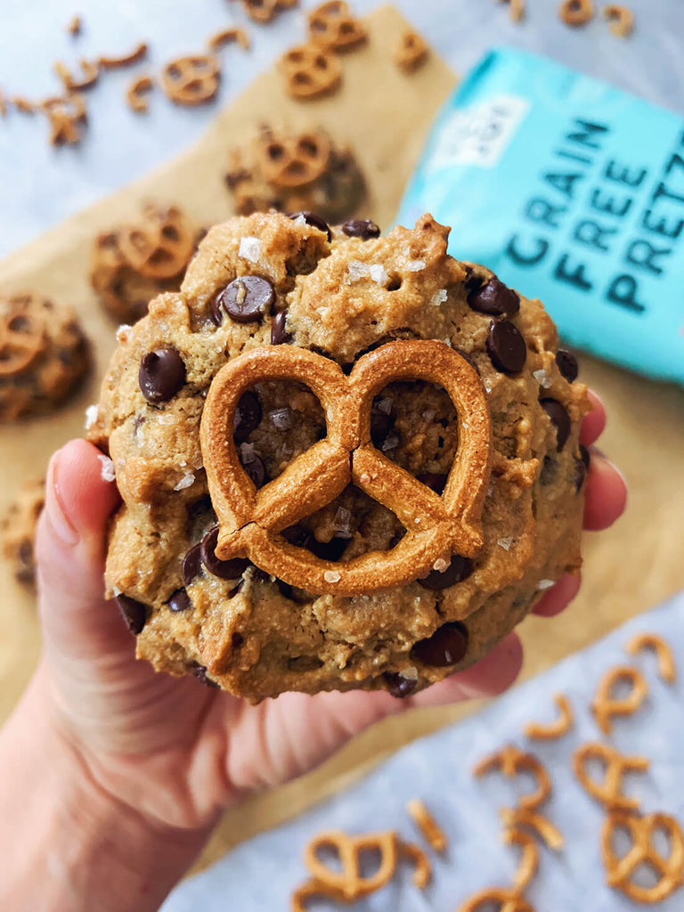 pretzel cookie