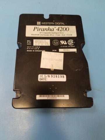 Western Digital Piranha 4200 WDAP4200-32 hard Drive