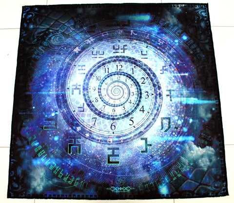 Lycra Tapestry / Backdrop of Clockwork Cosmos