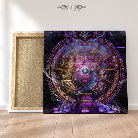 "Stretched Canvas Print of ""Conception"""