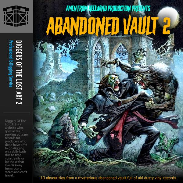 Abandoned Vault 2 Sample Pack - Boom Bap Labs