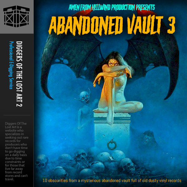Abandoned Vault 3 Sample Pack - Boom Bap Labs