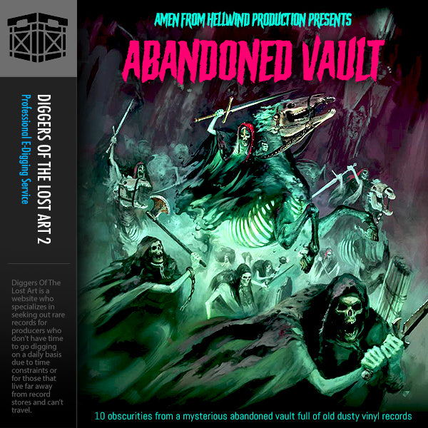 Abandoned Vault 1 Sample Pack - Boom Bap Labs