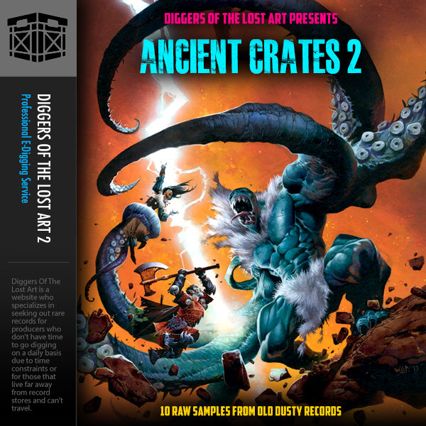 Ancient Crates 2 - Boom Bap Labs