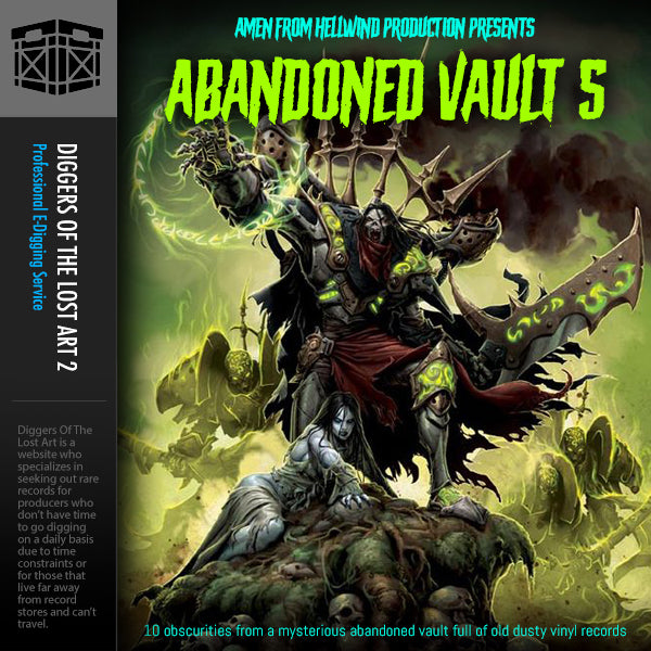 Abandoned Vault 5 Sample Pack - Boom Bap Labs