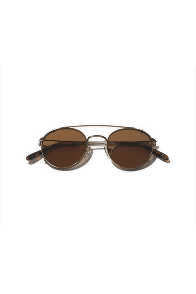 Clip-on Sunglasses - Brass