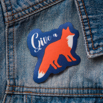 Give a Fox - Patch - Fox & Fir Design