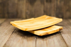 Soap Dish - Curved Bamboo