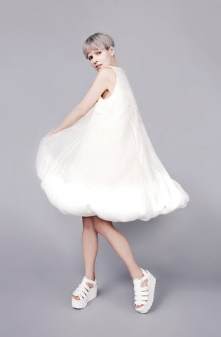 "Polystyrene ball Interactive ""Elliot"" Dress"