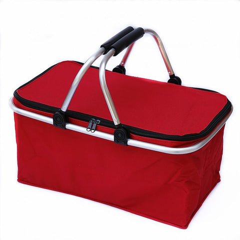 Outdoor Camping Folding Cooler Insulated Picnic Baskets -FOOD STORAGE | TravDevil - 1